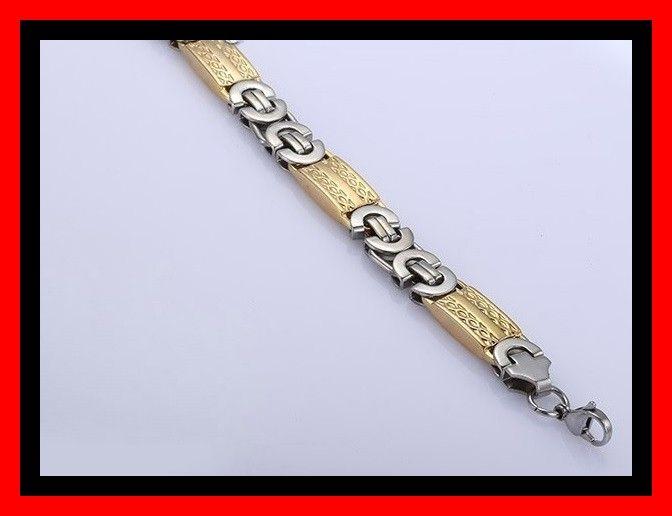 Byzantijnse armband Goud en zilverkleurig