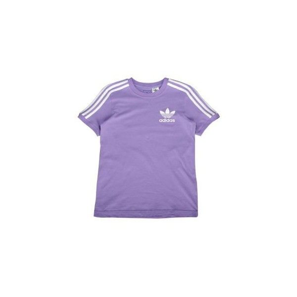 adidas Originals 3 Stripe Icon T-Shirt Girls' Grade School found on  Polyvore featuring