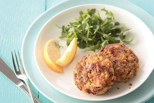 Mix, heat, cook in a skillet until golden brown. These crispy tuna cakes are such a snap to make. Could it be you've found a new family favorite?