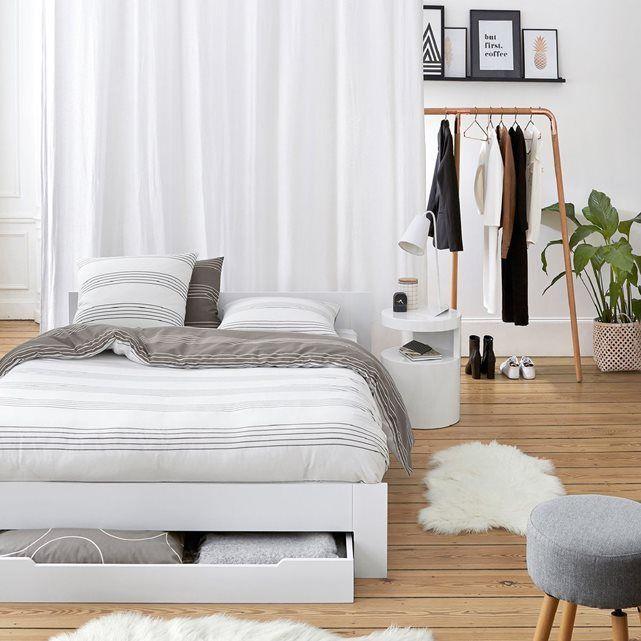 17 meilleures id es propos de lit avec tiroir sur pinterest lit tiroir - Lit la redoute 2 places ...