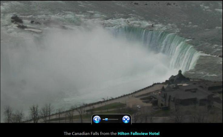 Niagara Falls webcam ~ Horseshoe Falls (Canadian side)