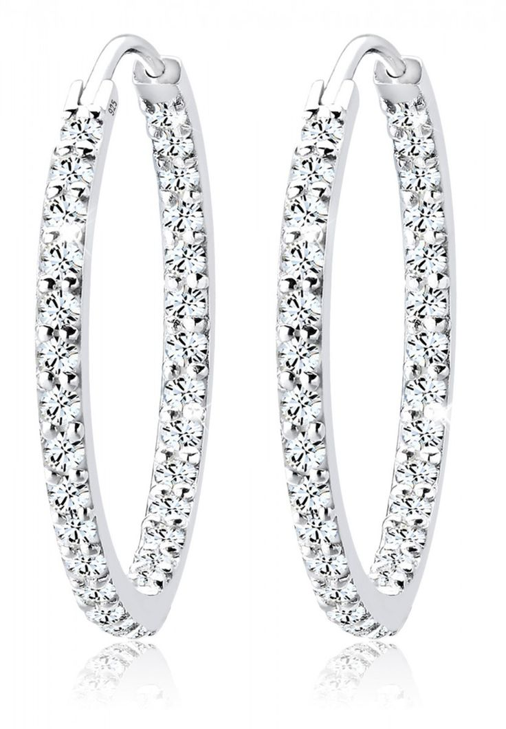 This Elli Creolen Swarovski® Kristall are a perfect match to your outfit for New Years Eve.