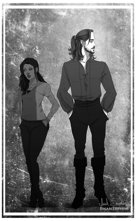 Quick Sleepy Hollow fan art!Ichabbie FTW! I cant believe we have...