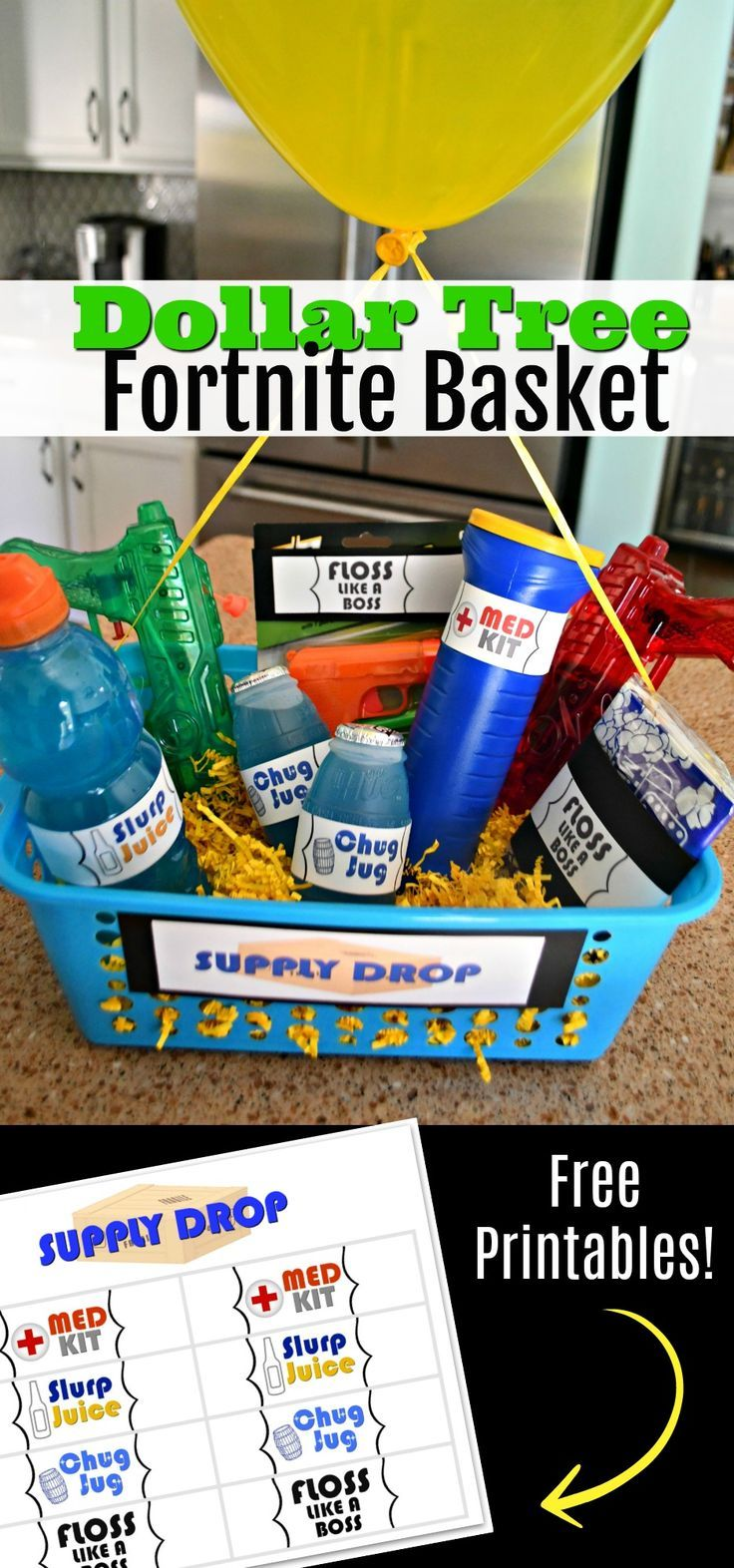 Make your own Supply Drop gift basket using our FREE
