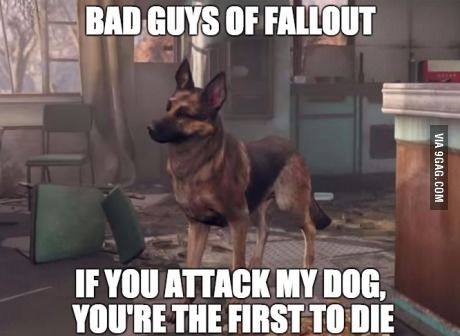 How I feel going into every Fallout confrontation