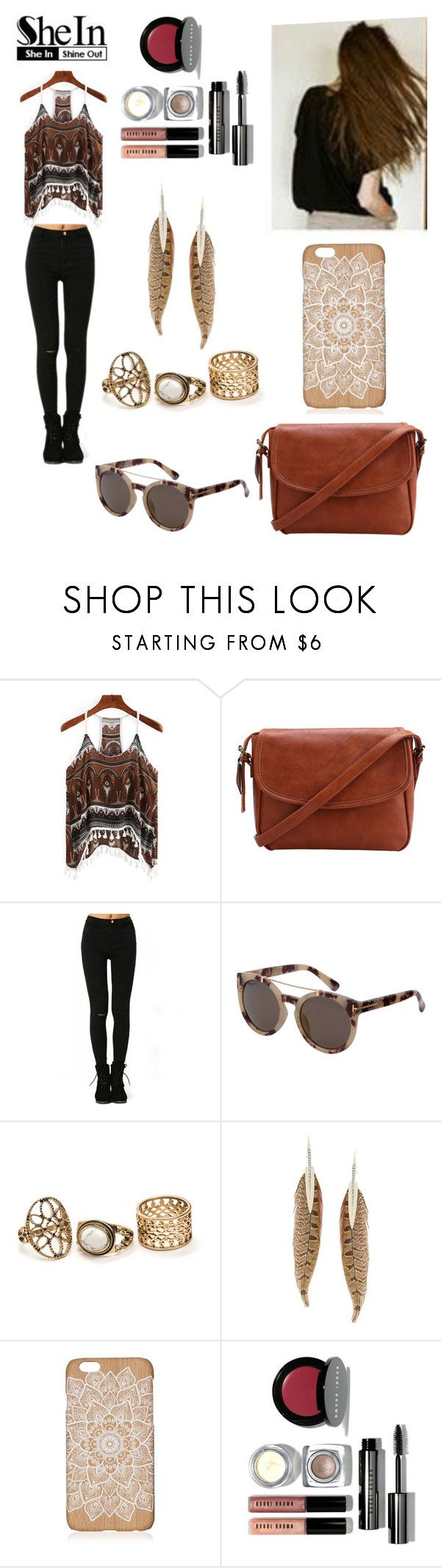 """""""WIN SHEIN $30 COUPON!"""" by ana-silva-386 ❤ liked on Polyvore featuring Roberto Cavalli and Bobbi Brown Cosmetics"""