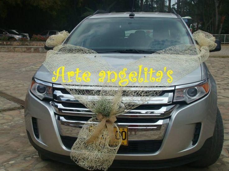Carro para la novia