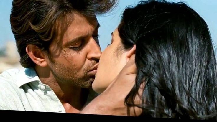 Katrina Kaif Hottest Kissing Scene with Hrithik Roshan