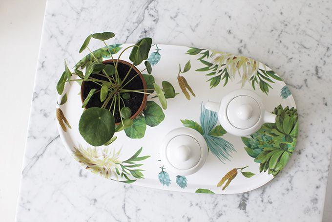 Flora & Laura tray for Design Forum Finland / photo: Susanna Vento