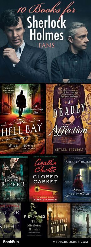 10 Books to Read If You Love 'Sherlock Holmes'Kat Grif