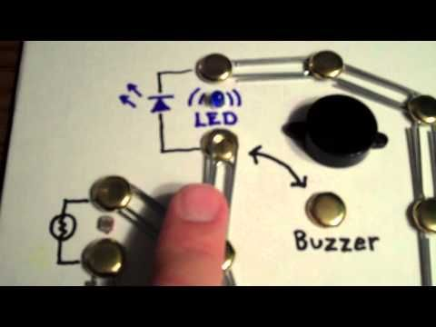 Build a Simple Circuit from a Pizza Box (No Soldering) - All