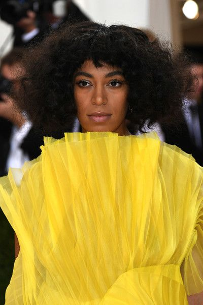 """Solange Knowles attends the """"Manus x Machina: Fashion In An Age Of Technology"""" Costume Institute Gala at Metropolitan Museum of Art on May 2, 2016 in New York City."""