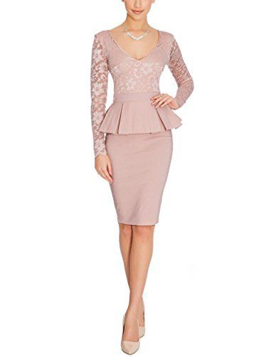 New Trending Formal Dresses: Ssyiz Womens Slim Fit Pink Lace Long Sleeves Casual Party Pencil Offical Midi Bodycon Dress Retro Bridesmaid Dress, X-Large. Ssyiz Women's Slim Fit Pink Lace Long Sleeves Casual Party Pencil Offical Midi Bodycon Dress Retro Bridesmaid Dress, X-Large   Special Offer: $32.99      299 Reviews When ordering the dress, Please select the size that suits for you. Or you find that these dimensions are not right...
