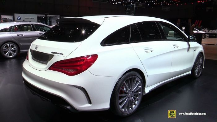2015 Mercedes Benz Cla Class Cla45 Amg Shooting Brake At 2015