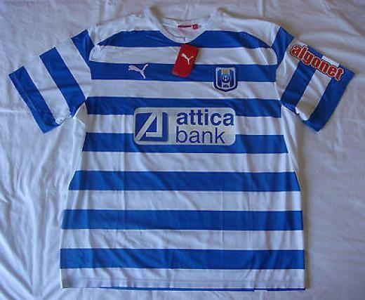 Puma Iraklis Fc 2008 - 2009 100 Years Football Shirt Soccer Jersey Size 2xl Bnwt Jerseys Short Sleeve Vietnam Blue