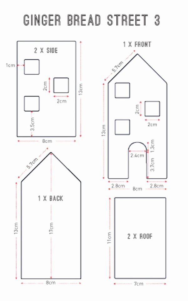 Victorian Gingerbread House Plans Awesome 20 Free Gingerbread House Templates 2 In 2020 Gingerbread House Template Gingerbread House Designs Gingerbread House Patterns