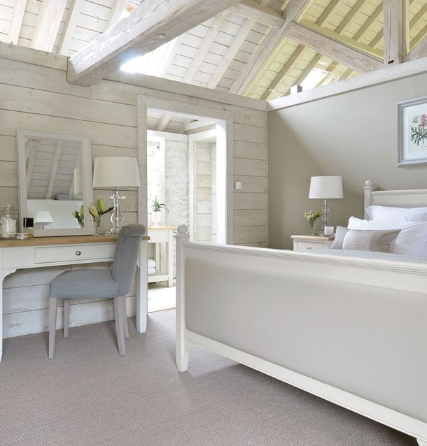 Bedroom- Love these colours for a spare bedroom....blue/grey/beige/slate