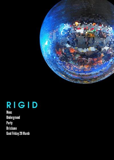 I'm hosting 'RIGID - MENS UNDERGROUND PARTY - BRISBANE' on pingg! http://pingg.com/0yrlj0