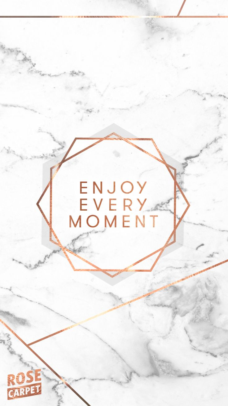 Marble quote iPhone wallpaper