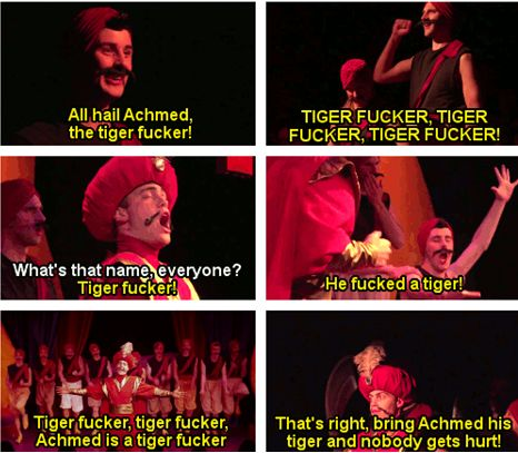 Sex tale tiger twisting