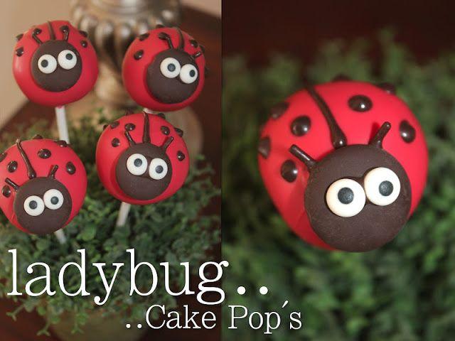 Her.BOLD.Events: {The BOLD Ladies Present} Red Velvet Ladybug Cake Pop's