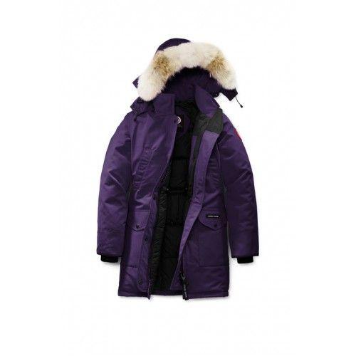 canada goose jakke dame brun