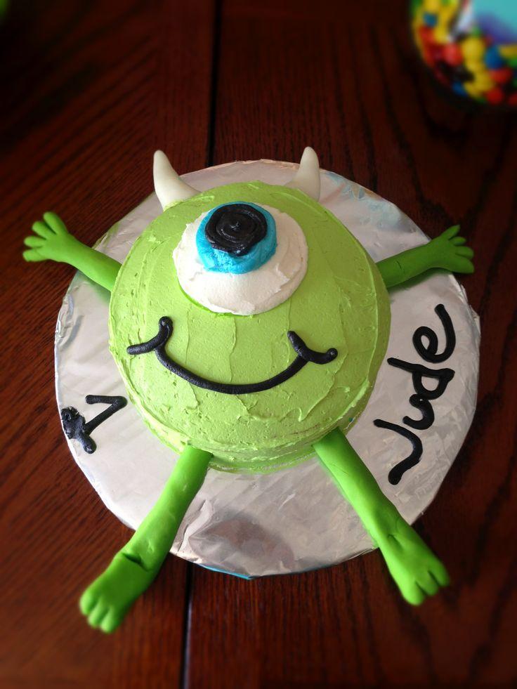 Mike Wazowski Birthday Cake