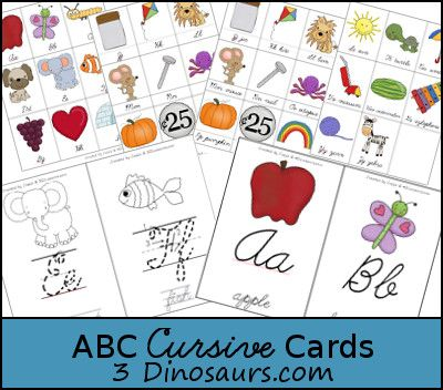 33 best educate me images on pinterest cursive writing worksheets free abc cursive cards fandeluxe Images