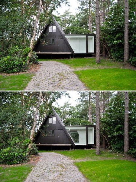 vB4 – лесной дом от dmvA в Германии