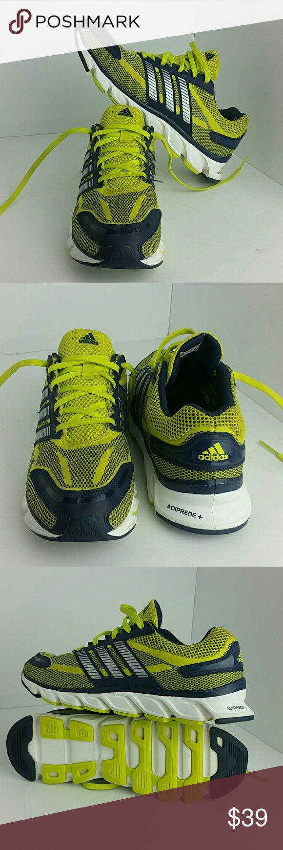 ADIDAS ADIPRENE + MEN'S SHOES VERY CLEAN INSIDE-OUT   SKE # JZ ADIDAS Shoes Athletic Shoes