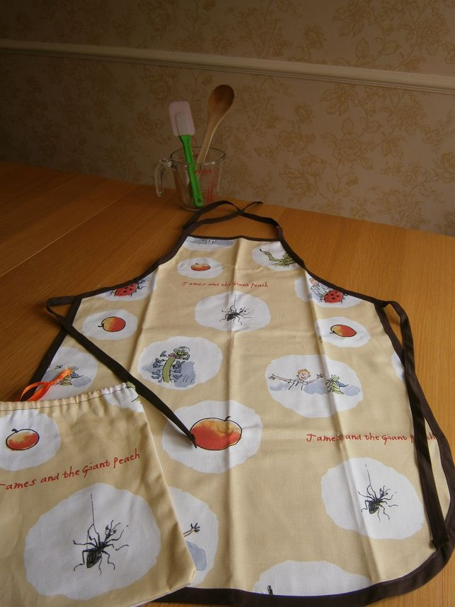 Childrens Apron, James And The Giant Peach £18.00