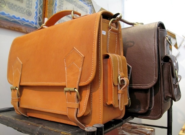 Postman leather bag made in Bantul, Jogja, Indonesia.