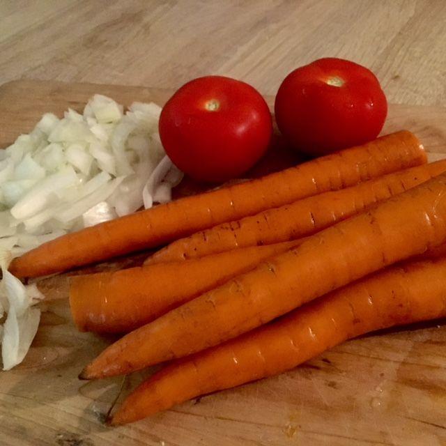 Zeleninka, pripravená na varenie