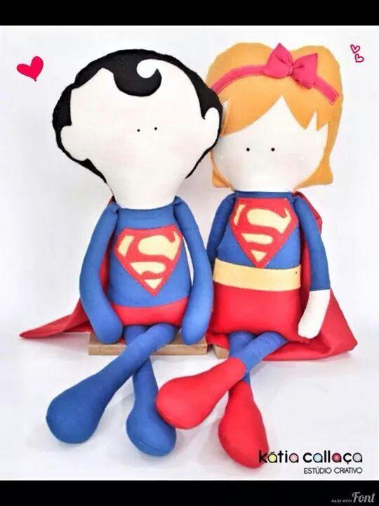 Super Heróis por Katia Callaça
