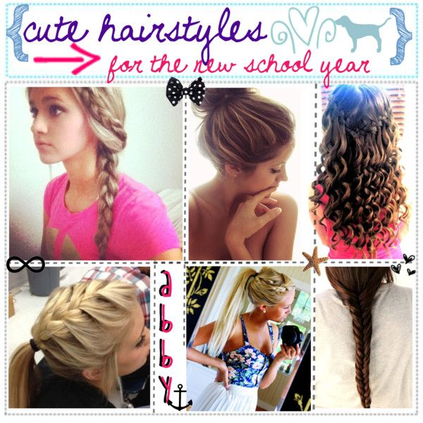 Cute Hairstyles for the new school year