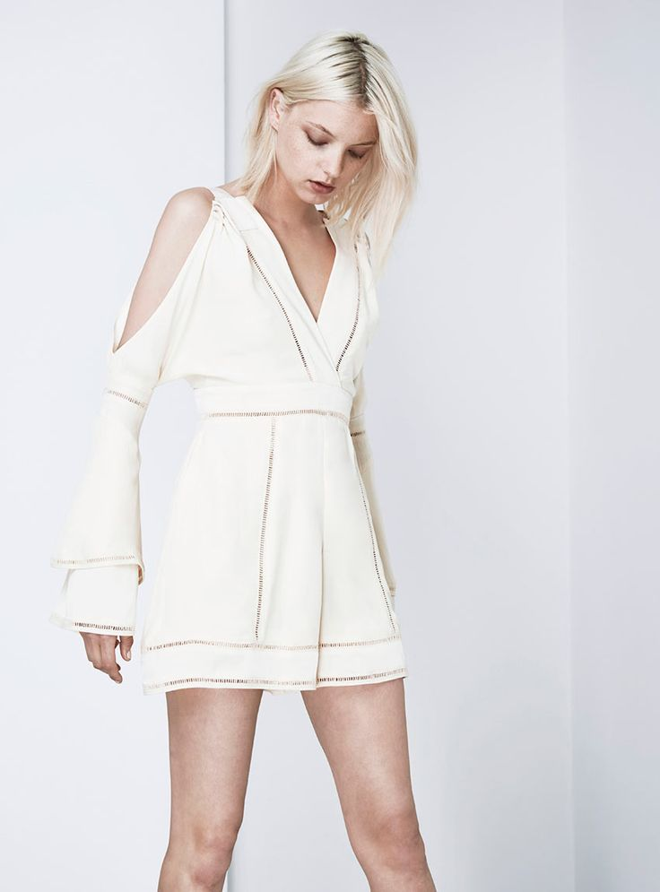 Finders Keepers - Unravel Playsuit - Shell