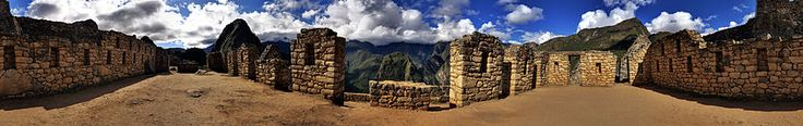Panorama of Machu Picchu buildings: Wiki Travel Guide
