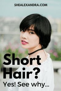 hair cut haircut hairstyle short hair salon benefits