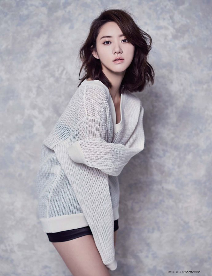 Han Groo For The March 2015 Issues Of Arena Homme Plus & GQ Korea