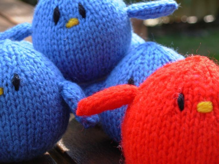 Twitter Tweet Toy - from Craftsy  Get free pattern here: