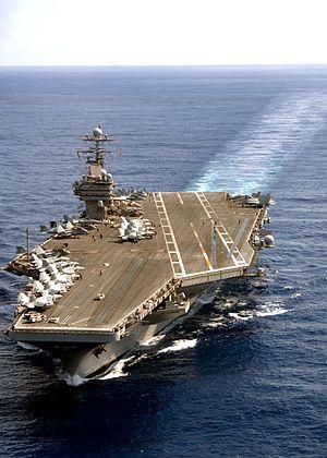 USS Theodore Roosevelt (CVN-71)...