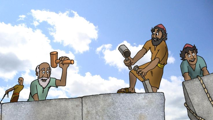 Haggai building the temple in jerusalem scenes
