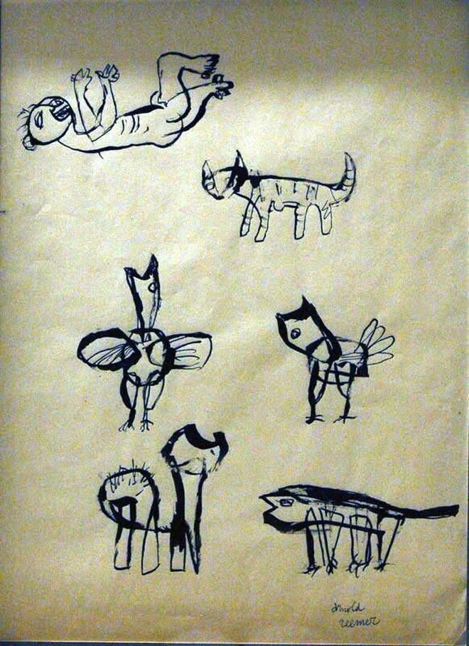 Compositie met dieren