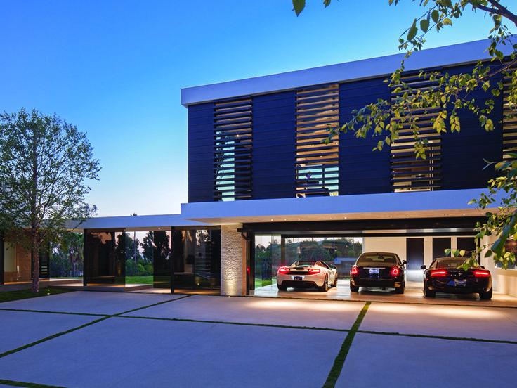gorgeous inspiration modern carport. Beautiful modern villa recently completed by Whipple Russell Architects  situated in Beverly Hills California This project emphasizes indoor outdoor liv 43 best Garages Carports images on Pinterest Carport designs