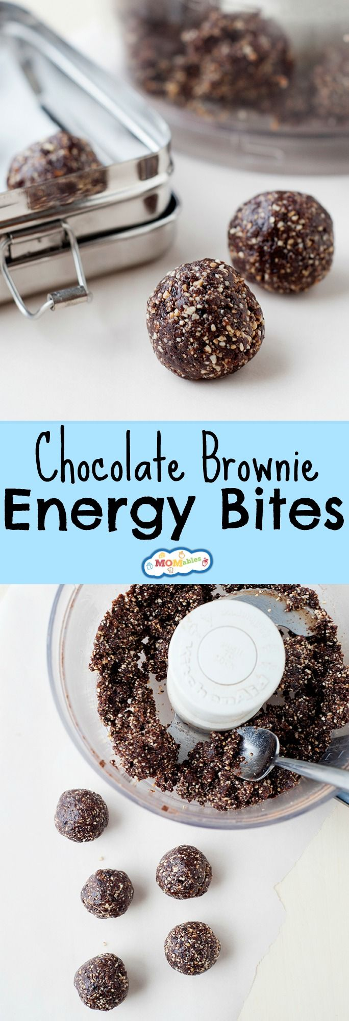 Need a healthy afternoon pick-me-up? These Chocolate Brownie Energy Bites are perfect for your kids' after-school snack time or as a sweet treat for lunch.