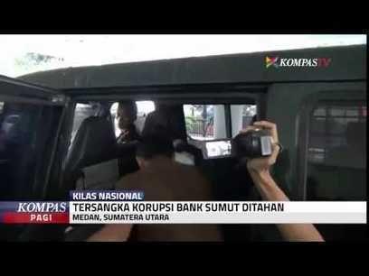 Kasus korupsi di Sumatera Utara oleh pejabat Bank Sumut