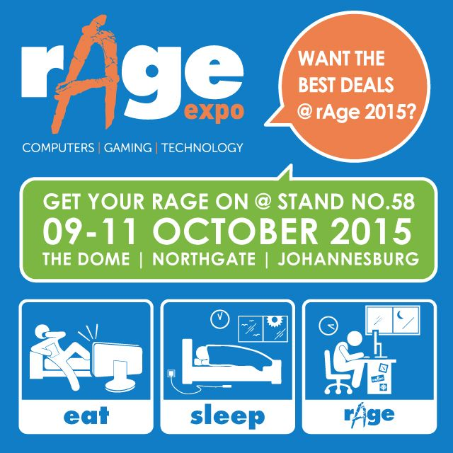 rAge2015  See you there!