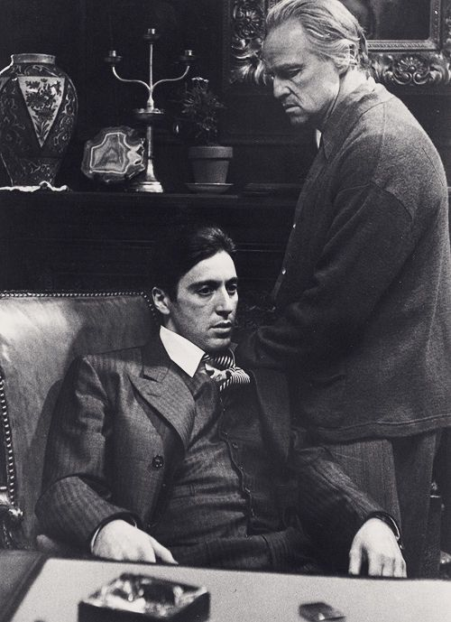 """the legacy of michael corleone The most important line in 'the godfather'  landon: yes – the godfather as a series is about one man, michael corleone it's a classic """"gain the world, lose your soul"""" narrative ."""