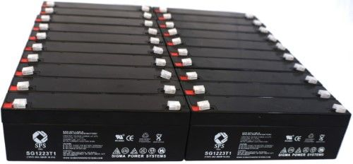SPS Brand 12V 2 3 Ah Replacement Battery for Medical