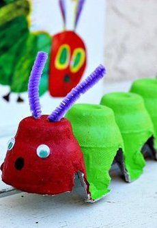 Egg Carton Caterpillar Craft For Kids /parentmap